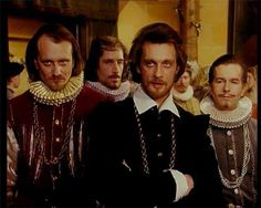 """series """"The Countess de Monsoreau,"""" the image of the hero of the Comte de Bussy (played by actor A. Domogarov) was settled in a beautiful, low-key scheme with the minimum of decorative detail."""