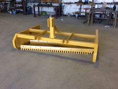 Road Boss Utility Graders The Road Boss Grader Utility Model has 18 inch side pans and is 5 feet deep. Skid Steer Attachments, Tractor Attachments, Small Tractors, Compact Tractors, Tractor Accessories, Welding Projects, Welding Ideas, Tractor Seats, Tractor Implements