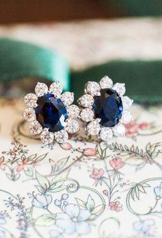 Something Blue - Earrings Sapphire Earrings, Blue Earrings, Sapphire Pendant, Blue Sapphire, Cute Jewelry, Wedding Jewelry, Jewelry Box, Jewellery, The Bling Ring