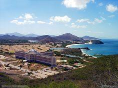 Hotel Hysperia Isla Margarita on Margarita Island Venezuela.  Beautiful setting and wonderful vacation!