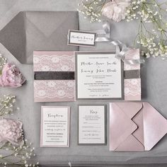 39 Romantic Grey And Pink Wedding Ideas | HappyWedd.com #PinoftheDay #romantic #grey #pink #GreyAndPink #wedding #ideas