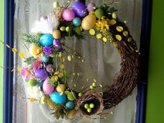 easter wreath I made