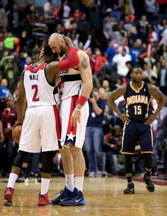 Marcin Gortat - Indiana Pacers v Washington Wizards