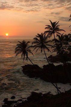 Mirissa Beach, Sri Lanka. #Mirissa #SriLanka #travel