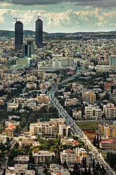 Zahran street in Amman - Jordan - Wikipedia, the free encyclopedia The Beautiful Country, Beautiful Places In The World, Jordan Country, Places To Travel, Places To Visit, Jordan Amman, Jordan Travel, Thinking Day, World Cities
