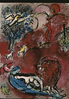 """'Song of Songs' - Marc Chagall 