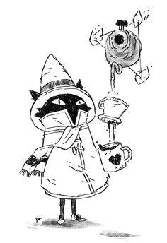 konradwerks//sketchbook - Coffee and Books Illustration Inspiration, Art Et Illustration, Ink Illustrations, Furry Art, Fantasy Character Design, Character Art, Art Inspo, Art Du Croquis, Art Mignon