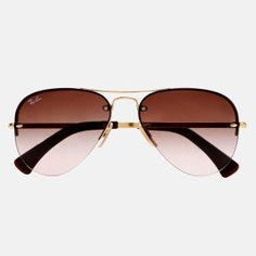 9e2c5012369 Ray-Ban - Frameless Aviators  sarinadesai this is what I was talking about  yo