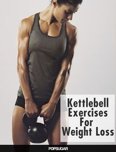 More Kettlebell, Please! 9 Calorie-Torching Exercises - Burn up to 400 calories in 20 minutes with kettlebell exercises Fitness Workouts, Fitness Motivation, Fitness Diet, Fitness Goals, At Home Workouts, Health Fitness, Body Workouts, Workout Tips, Enjoy Fitness