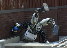 We're not yet at the AI utopia hyped so feverishly in the media this year. There are still hard questions to ask: Military Robot, Military News, Hard Questions To Ask, This Or That Questions, Thing 1, Miss America, Cool Technology, Machine Design, Falling Down