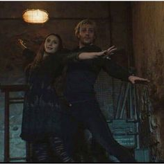 Elizabeth Olsen and Aaron-Taylor Johnson