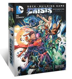 DC Comics Deck Building Game Crisis Expansion Pack 1 - 31% Off!