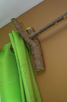 Woodland curtain holder