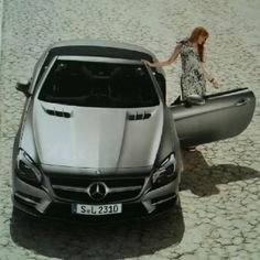 Mercedes-Benz SL---my dream wheels...really...I can see myself in it...