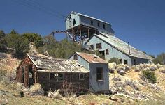 This very large mill is not too far from the ghost town of Hamilton, NV