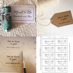 Any Color Mint To Be Favor Tags Label Wedding By Moesigns Pinterest Favors And Bridal Showers