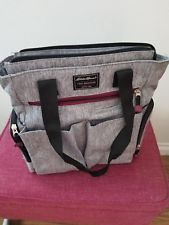 Eddie Bauer Heather Tall Tote Gray Diaper Bag http://ift.tt/2DBzeGR