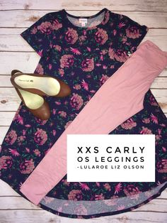 Look at this beauty! LuLaRoe outfit. LuLaRoe Carly and leggings.