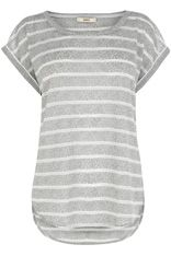 Grey stripped t-shirt £22