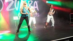 Zumba FIBO 2013 - Gloria Estefan, Madonna, etc - conga remix!