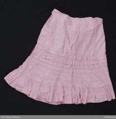 Skjørt @ DigitaltMuseum.no Ballet Skirt, Skirts, Pink, Fashion, Moda, Rose, Skirt Outfits, Fasion, Skirt