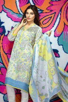 Khaadi Lawn Dresses 2016 For Girls