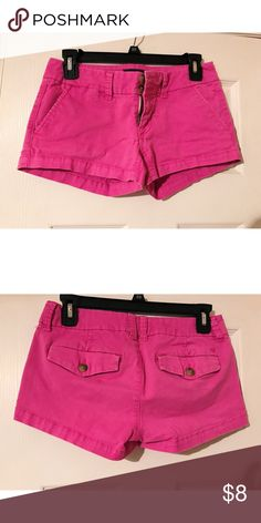 American Eagle Shorts American Eagle pink Shortie stretch shorts • No holes/rips/tears/stains • Barely worn, perfect condition • Make an offer American Eagle Outfitters Shorts