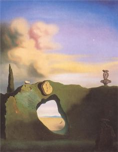 The Triangular Hour by Salvador Dali, 1933. Oil on canvas: