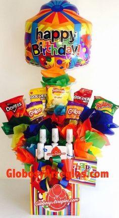 Regalo para hombre, Regalo con botellas Arreglo de cumpleaños, Arreglo para toda ocasión, Arreglo de cumpleaños caballero, Arreglo de globos monterrey, Arreglo de globos con botellas cumpleaños domicilio