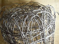 Vintage Wire Fence | Fences, Flower and Gardens