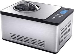Whynter 2.1 qt. Ice Cream Maker in Stainless Steel