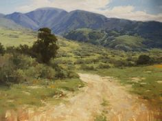 The Road Less Traveled by Laurie Kersey Oil ~ 36 x 48
