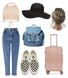 """""""AirPort"""" by giuliaaq on Polyvore featuring Miss Selfridge, Vans, CalPak and Dance & Marvel"""