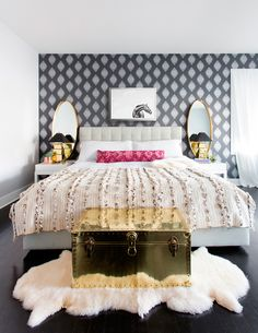 A Bohemian Bedroom by Centered by Design | Rue
