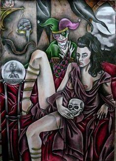 "Saatchi Art Artist Celeste Gómez; Drawing, ""MORGANA."" #art"