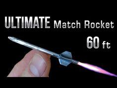 Match Rocket - 60 Foot Ultimate Matchbox Rocket - YouTube