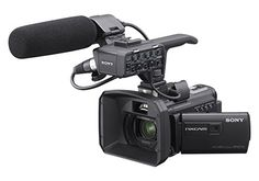 Sony HXR-NX30U Palm Size NXCAM HD Camcorder with Projector & 96GB HDD Sony   I am a professional video producer - This camera delivers a good quality HD image with great dynamic range. It does deliver competitive video suitable for commercials, documentaries, events. I bought 2