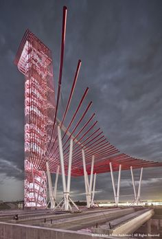 Circuit of the Americas - F1's most exciting new race - United States Grand Prix Architecture in Austin, TX / Miro-Rivera Architects
