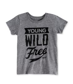 young wild free tee - Chasing Fireflies
