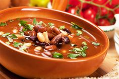 Packed with protein, every package of 15 Bean Soup has at least 15 varieties of dried beans, peas, and lentils. #15bean #souprecipe