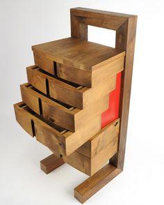 Chest Of Drawers / Tall Dresser / Plan D