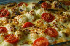 Fácil soufflé de puerro, repollitos, albahaca y tomates cherry | Notas | La Bioguía