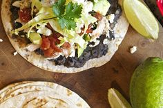 Thyme In Our Kitchen: Tostadas with Smashed Orca Beans