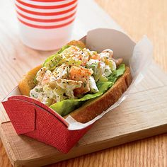 In New England, lobster rolls are one of summer's supreme pleasures. Here's a twist on the theme using shrimp and crab instead.- Visit PaneraBread.com for more inspiration.