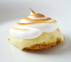 Lemon meringue bites