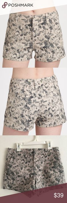 J Brand Floral Boy Shorts Like new condition! Size 25. Super cute rose floral design. Retail $72 - Sold out online/in stores. See last photo for measurements in inches! J Brand Shorts