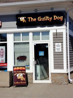 Check out this great outdoor Store Front Signage done by our newest Speedpro location, Speedpro Imaging Mississauga West for The Guilty Dog Coffee House!  Well Done!