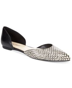 Nine West Starship Two-Piece Flats $69.00 The Starship flats by Nine West have a two-piece silhouette that gives you open comfort that will complement your dress and casual wardrobes.