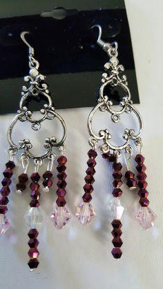 Chandelier  Earring Chandelier Earrings, Drop Earrings, Charmed, Heart, Bracelets, Jewelry, Fashion, Moda, Jewlery