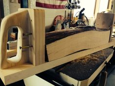 SUPER UNFANCY BANDSAW LOG SLED - by jeffwedekind @ LumberJocks.com ~ woodworking community